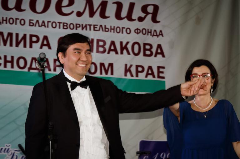 Игорь Лазарев и Екатерина Немирович-Данченко